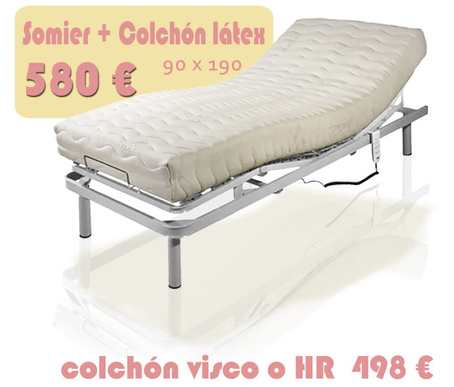 Oferta Somier Y Colchon 135.Cama Articulada Electricas De Muebles Que Idea