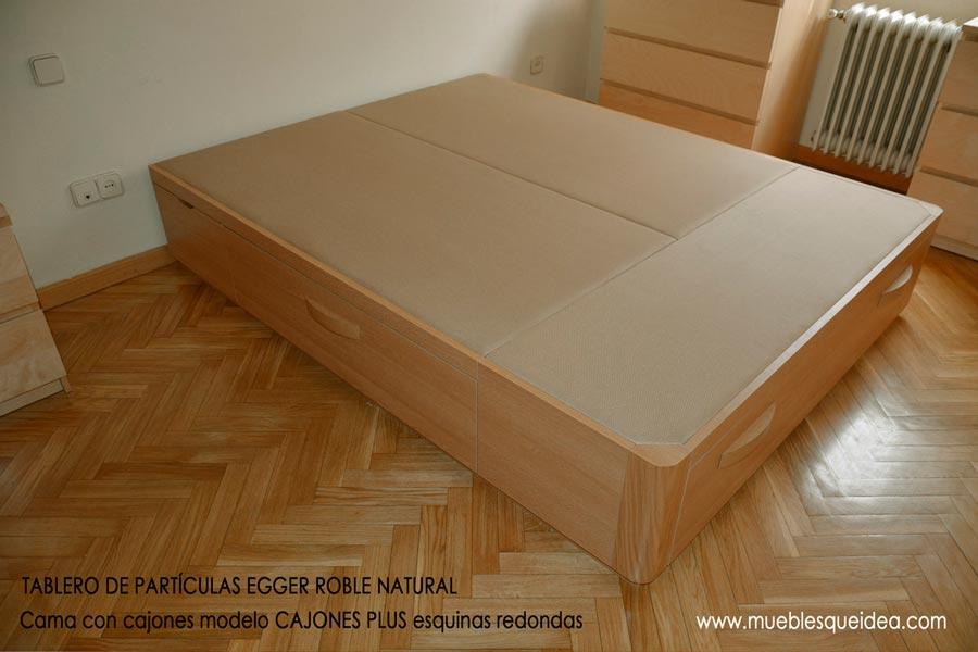 Camas de madera con cajones - Como hacer un canape ...
