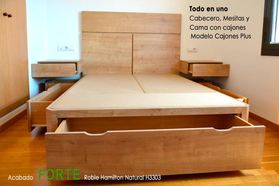Cabeceras de cama en madera good cabecero cama madera - Cabeceros artesanales ...