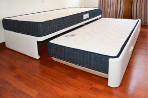 Cama nido tapizada canguro tapizado muebles que idea for Cama nido individual