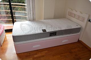 Cama nido tapizada canguro tapizado muebles que idea for Cama nido dos colchones