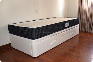 Cama nido tapizada canguro tapizado muebles que idea for Camas nido blancas precios