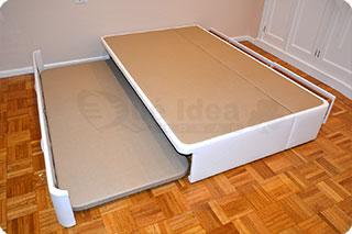 Cama nido tapizada canguro tapizado muebles que idea - Cama nido doble con cajones ...