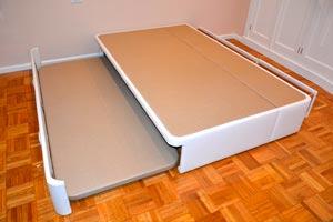 Camas nido a medida for Como hacer una cama con cajones