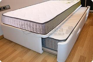 cama nido tapizada canguro tapizado muebles que idea