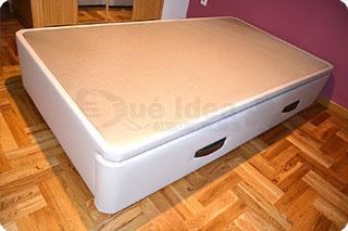 Cama nido tapizada canguro tapizado muebles que idea for Estructura cama nido 105
