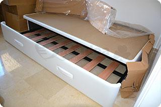 Medidas de la cama nido qu idea hogar - Camas nido de 105 cm ...