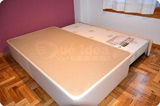 Cama nido tapizada canguro tapizado muebles que idea - Camas nido de 105 cm ...