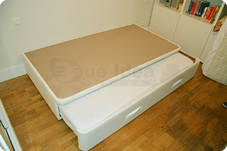 Cama nido tapizada canguro tapizado muebles que idea for Cama abierta