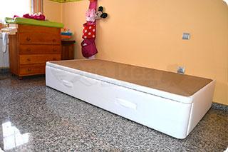 Cama nido tapizada canguro tapizado muebles que idea - Tapizados valencia ...