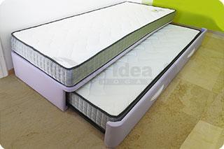 Medidas de la cama nido qu idea hogar for Cama nido color haya