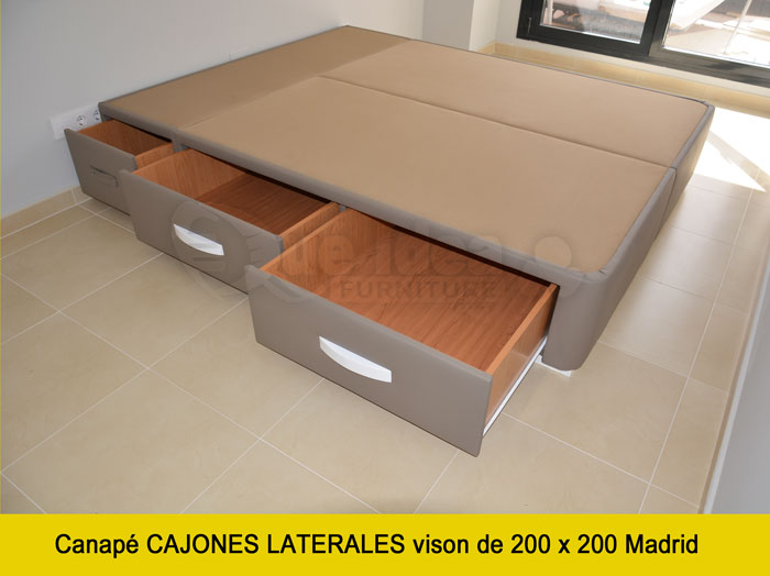 Canap con cajones qu idea hogar for Canape 200x200