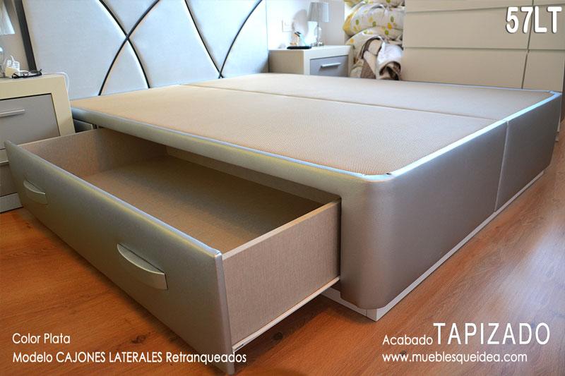 Canap con cajones qu idea hogar for Cama 105 con cajones