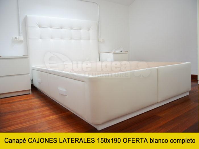 Canap con cajones qu idea hogar - Canapes para camas ...