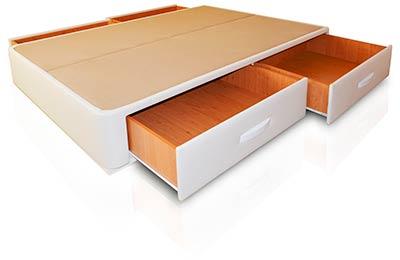 Modelos de camas con cajones muebles qu idea for Como hacer una cama nido con cajone