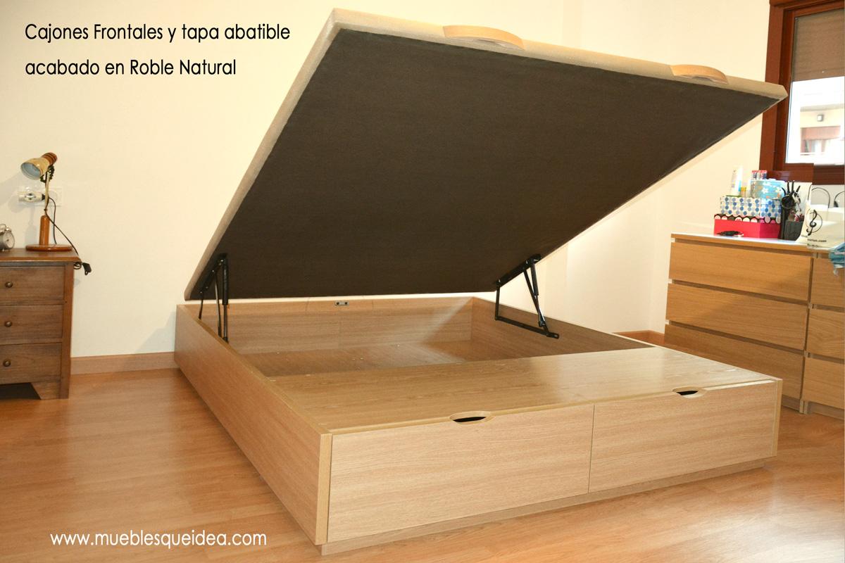 Cama con zapatero muebles qu idea for Cama 105 con cajones