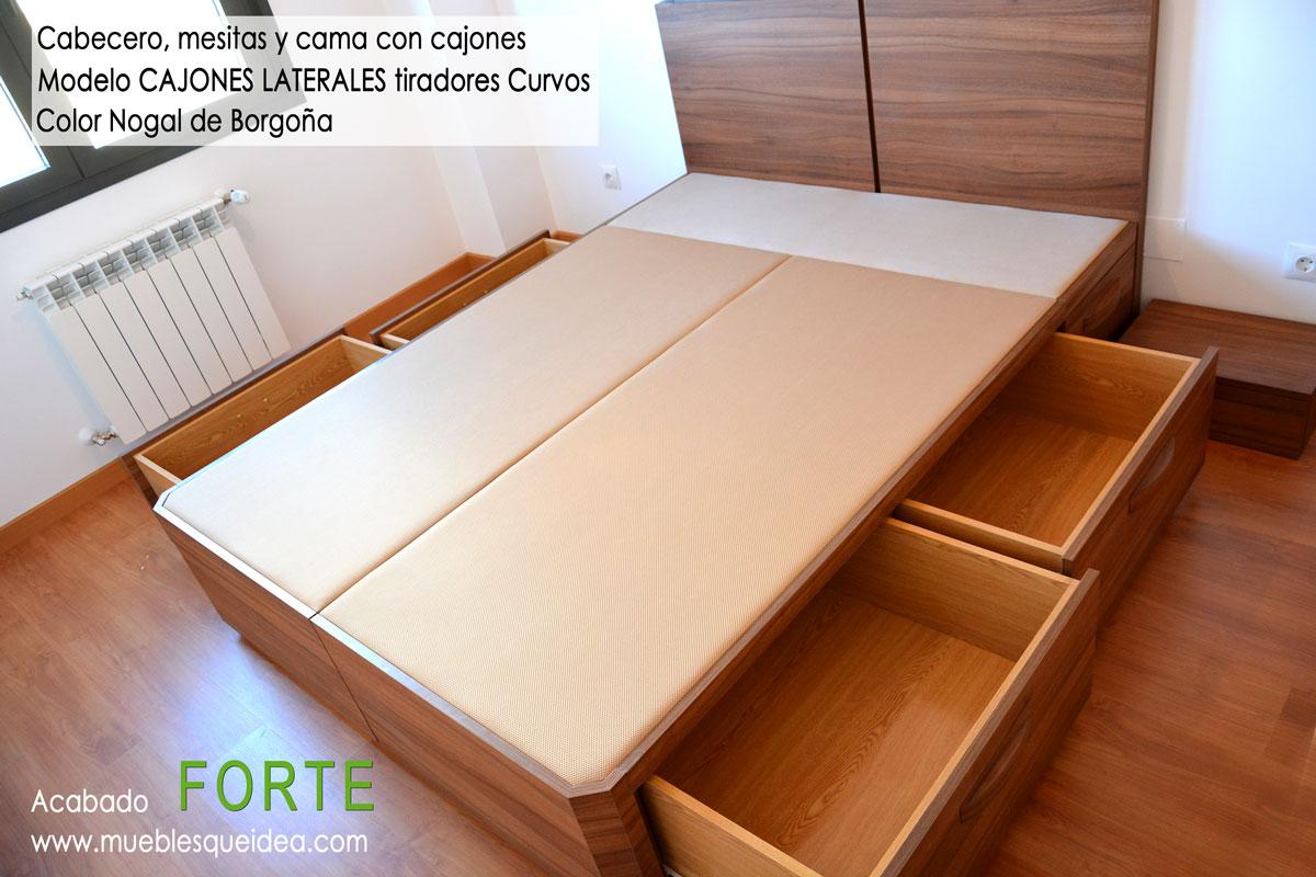 Camas con cajones modelos muebles qu idea for Camas con cajones debajo