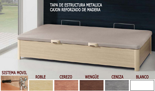 Canap apertura lateral for Canape 90x190