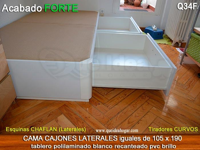 Canap apertura lateral for Camas canape barcelona
