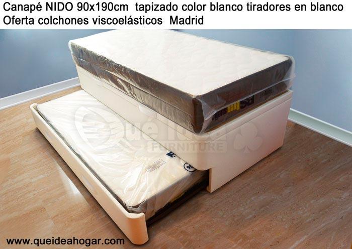 Cama nido tapizada canguro tapizado muebles que idea - Canapes para camas ...