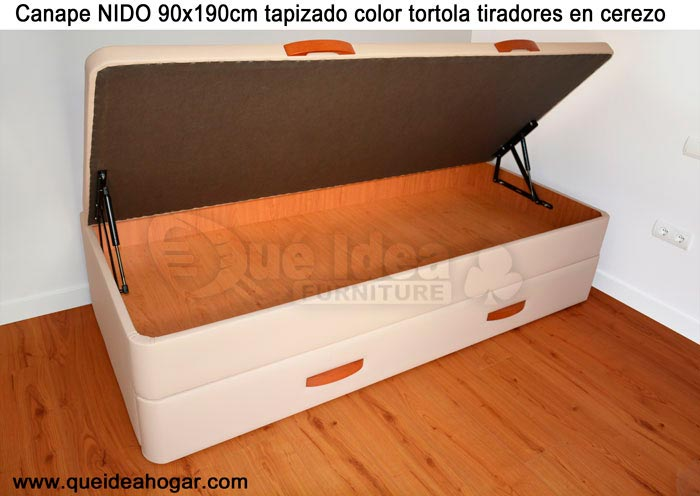 Cama nido tapizada canguro tapizado muebles que idea for Cama nido abatible