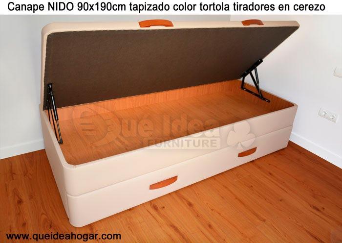 Cama nido tapizada canguro tapizado muebles que idea for Cama nido divan