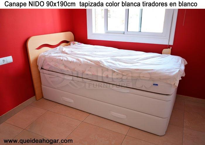 Camas con canape abatible perfect cama abatible ld - Camas nido abatibles ...